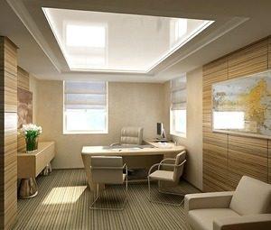 натяжные потолки для офиса фото_18