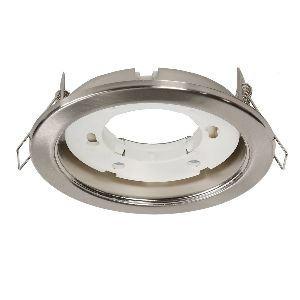 Светильник для натяжных потолков GX53 САТИН ХРОМ